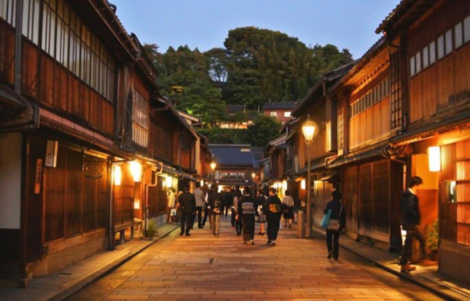 Geishawijk Kanazawa